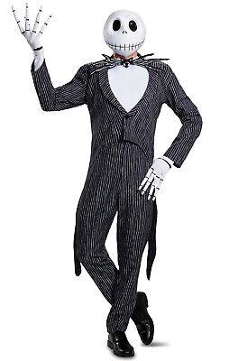 The Nightmare Before Christmas Jack Skellington Prestige Adult Costume ()