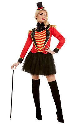 Adult Ringmaster Costume (Greatest Showman Ringmaster Lady Circus Adult)
