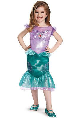 Brand New Disney Princess Ariel Little Mermaid Classic Toddler Costume - Toddler Little Mermaid Costume