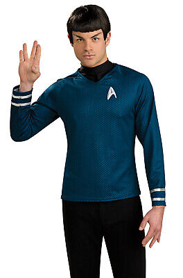 Star Trek Ears (Brand New Star Trek Spock Adult Costume Wig with)