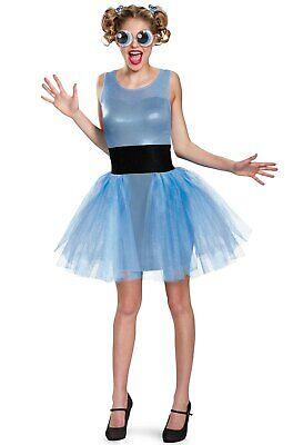 New Powerpuff Girls Bubbles Adult Costume Jr. 7-9