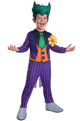 Brand New DC Comics Supervillian The Joker Child Costume