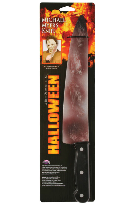 Michael Myers Halloween Costume Prop Knife