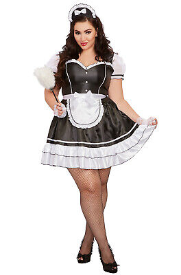 Keep It Clean Sexy French Maid Plus Size