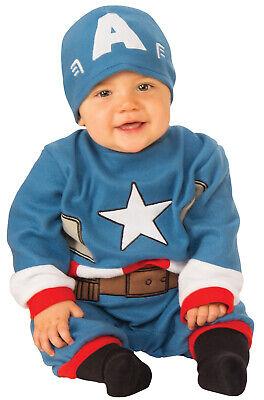 Baby Captain America Costume (Captain America Romper Infant)