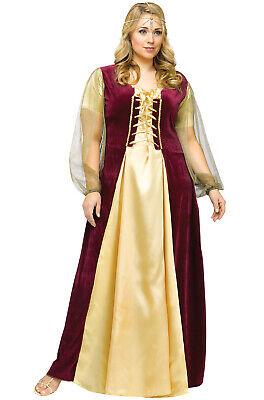 Shakespeare's Renaissance Medieval Juliet Plus Size - Shakespeare Juliet Kostüm