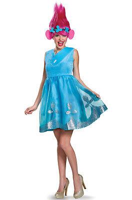 Brand New Trolls Poppy Deluxe Adult Costume - Adult Troll Costume