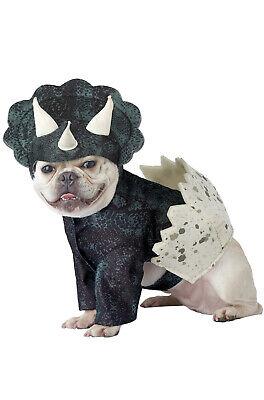 Brand New Dino Pup Triceratops Dinosaur Funny Pet Dog Costume