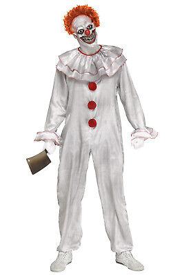 Brand New Carnevil Clown Evil Clown Pennywise IT Inspired Adult - Carnevil Kostüm