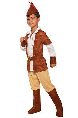Sherwood Huntsman Robin Hood Inspired Medieval Child Costume - Kids Robin Hood Costumes