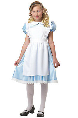 Brand New Alice In Wonderland Child Girls Dress Costume](Alice Baby Costume)
