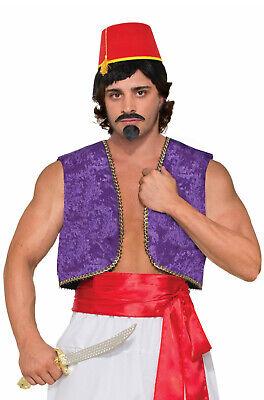 Forum Novelties Mens Purple Genie Costume Vest