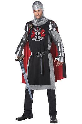 Renaissance Knight Costume (Brand New Renaissance Valiant Medieval Knight Adult)