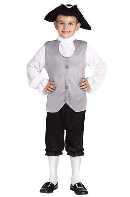 Brand New Historical Colonial Boy Child Costume