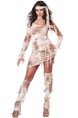 Brand New Women Egyptian Mystical Mummy Adult Costume