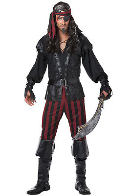 Ruthless Rogue Pirate Swashbuckler Adult Costume (Pirate Adult Costume)