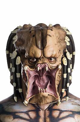 Make Predator Mask (Brand New Deluxe The Predator Movie Latex Adult Mask )