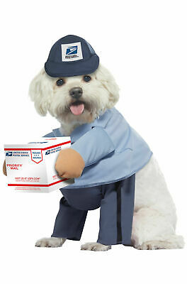 Dog Costume For Men (Brand New US Mail Carrier Pup USPS Mail Man Pet Dog)