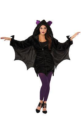 Bat Hoodie - Adult Costume