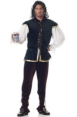 Brand New Adult Tavern Man Renaissance Medieval Costume - Tavern Man