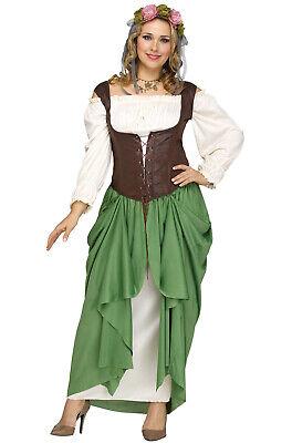 Brand New Serving Wench Renaissance Faire Plus Size Costume - Plus Size Wench Costume