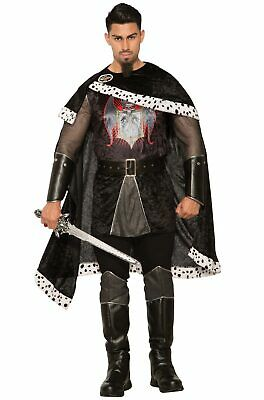 Brand New Evil Medieval Renaissance King Adult Costume](Medieval King Costumes Adults)