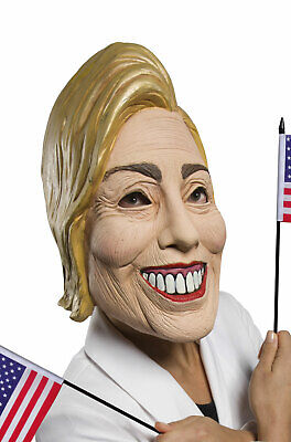 Brand New Democratic Presidential Candidate Hillary Clinton Politician Mask](Clinton Halloween Party)