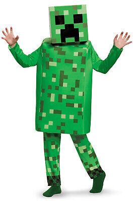 Minecraft Creeper Deluxe Child Costume - Kids Creeper Costume