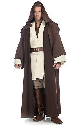 Brand New Star Wars Prestige Obi-Wan Kenobi Adult Costume - Obi Wan Kenobi Costume Adult