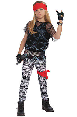 Brand New 80s Rock Star Boy Child Costume - Boy Rock Star Kostüm