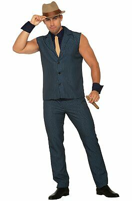 Brand New Roaring 20s Mobster Tough Tony the Gangster 1920s Adult Costume](Roaring Twenties Mens Costumes)