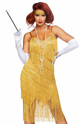 Adult Daisy Costume (Dazzling Daisy Roaring Twenties Flapper Adult)