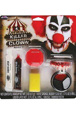 Psycho Killer Clown Makeup Kit