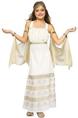 Brand New Golden Goddess Greek Child Costume