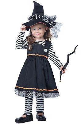Brand New Crafty Little Witch Girls Halloween Toddler Costume](Toddler Halloween Costumes Girl)