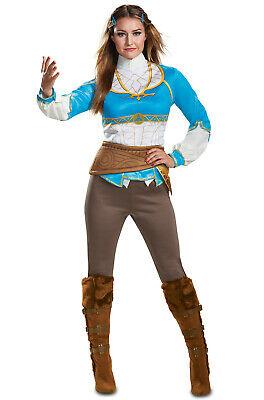 Zelda Breath Of The Wild Princess Zelda Teen/Adult Costume - Princess Costumes Teens