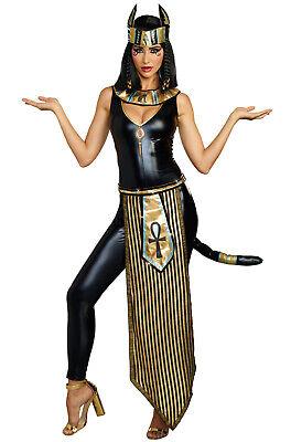 Brand New Egyptian Goddess Bastet Kitty Of De Nile Adult Costume