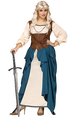 Brand New Viking Queen Renaissance Faire Plus Size Costume