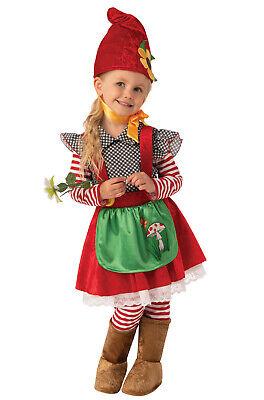 Garden Gnome Kids Costume (Garden Gnome Girl Toddler/Child)