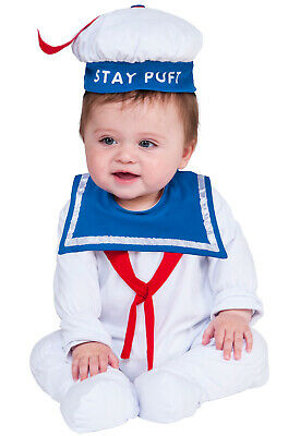 Baby Stay Puft (Brand New Ghostbusters Stay Puft Marshmallow Man Baby Infant)