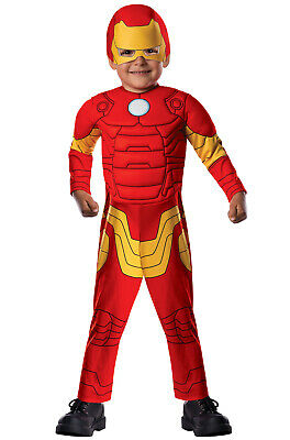 Marvel Deluxe Iron Man Toddler - Ironman Toddler Costume