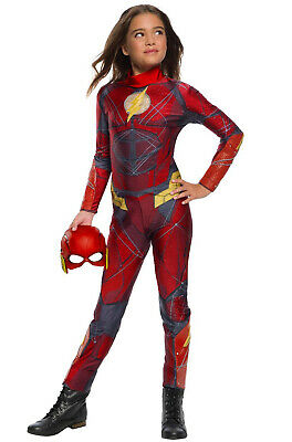 Justice League The Flash Girl Child Costume](The Flash Girl Costume)