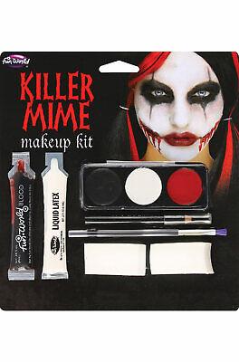 Brand New Killer Mime Face Paint Makeup Kit