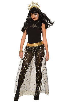 Brand New Star & Moon Skirt Celestial Goddess Adult Costume - Moon Goddess Halloween Costume