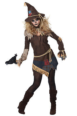 Creepy Scarecrow Costume (Brand New Creepy Scarecrow Women Adult)