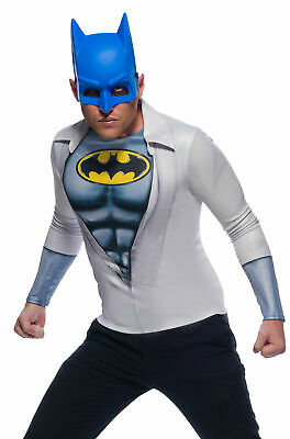 Rubie's Costume Men's DC Comics Photo Real Batman/Bruce Wayne Costume Top Standa