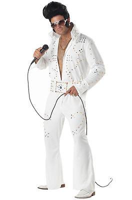 Elvis Presley Rock Legend Las Vegas Adult Costume 4 men woman and teen small new - Womens Elvis Costume