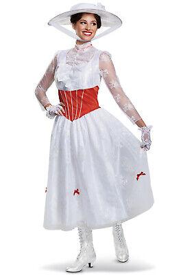 Disney Mary Poppins Deluxe Adult Costume - Mary Poppin Costume