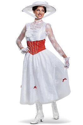 Disney Mary Poppins Deluxe Adult Costume](Ladies Disney Costume)