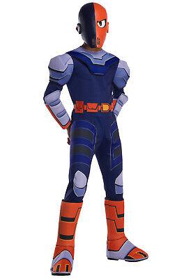Teen Titans Go Costume (Brand New Teen Titans Go! Deluxe Slade Child)